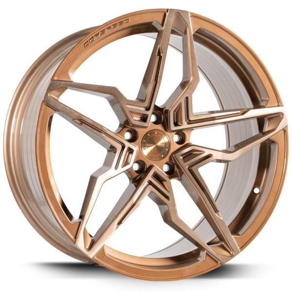 CORSPEED Kharma Higloss-Bronze brushed Surface 8,5x19 5x120 Lochkreis