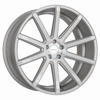 CORSPEED DEVILLE Silver-brushed-Surface 8,5x19 5x108 Lochkreis